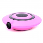 UFO-828 Bluetooth v3.0 Hands-Free 300KP CMOS Car DVR - Deep Pink