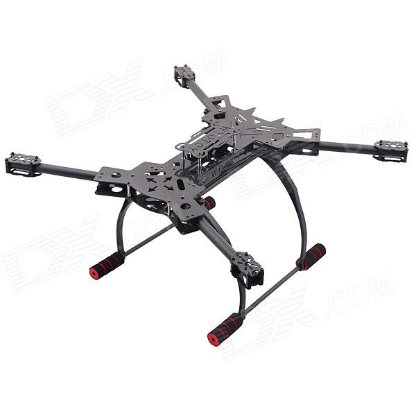 ATG TT-X4-12 Reptile 4-Axis Glass Carbon Folding Frame Kit with Landing Gear - Black atg tt x4 12 reptile 4 axis glass carbon folding frame kit with landing gear black