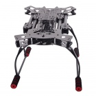 ATG TT-X4-12 Reptile 4-Axis Glass Carbon Folding Frame Kit with Landing Gear - Black