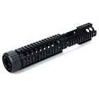 Y0019 20mm 4-faced Gun Guide Rail Mount for AR15 / M4 - Black