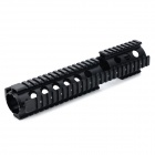 Y0057 20mm 4-faced Gun Guide Rail Mount for AR15 / M4 - Black