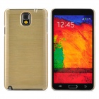Protective Plastic Back Case for Samsung Note 3 / N9006 / N9008 / N9009 - Champagne