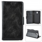 Protective PU Leather Case for Samsung Galaxy Note 3 N9000 - Black