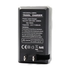 Replacement 3.7V 1300mAh Battery w/ US Plugsss Charger for GoPro Hero 3/3+ - Black