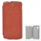 KALAIDENG Protective PU Leather Case for LG Nexus 5 - Brown