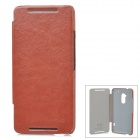 KALAIDENG Protective PU Leather Case for HTC One Max 8088 - Brown