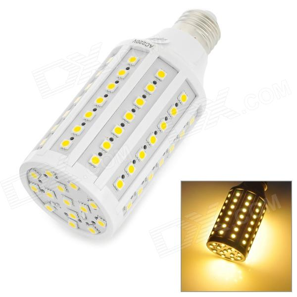 Zweihnder 	JDKJ84-2  E27 15W 1100lm 3300K 84-5050 SMD LED Warm White Corn Lamp - White (AC 220V) zweihnder e27 15w 1200lm 86 smd 5050 led white light bulb 220 240v