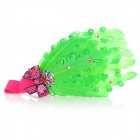 TOP BABY TSS-004 Princess Style Feather Headband Headdress for Kids - Green + Multicolored