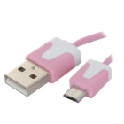 04 USB 2.0 Male to Micro USB Male Data/Charging Cable for Samsung / Sony / HTC (80cm)