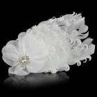 TOP BABY TSS-004 Princess Style Feather Headband Headdress for Kids - White