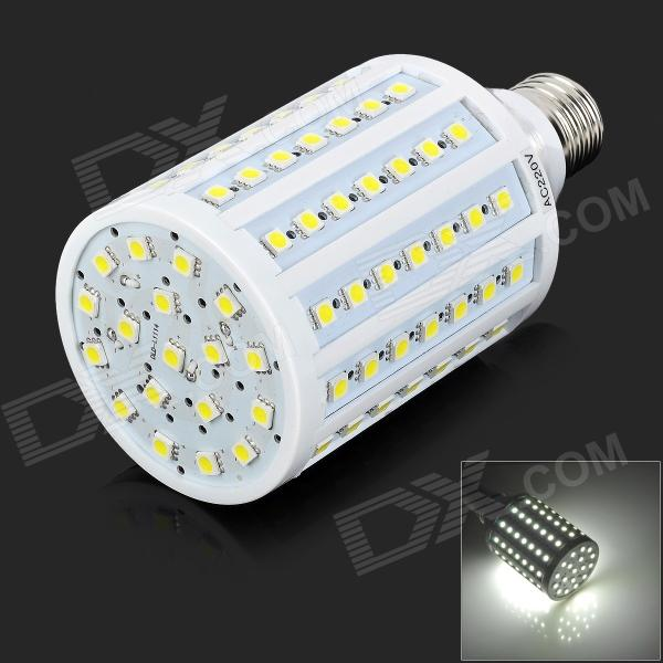Zweihnder JDKJ102-1 E27 18W 1300lm 6500K 102-5050 SMD LED White Light Lamp - White (AC 220V) zweihnder e27 15w 1200lm 86 smd 5050 led white light bulb 220 240v