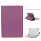 "TY-7 Protective PU Leather Case w/ Four Movable Buckle for 7"" Tablet PC - Purple"