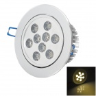 HESION HS02009 9W 830lm 3000K 9-LED Warm White Ceiling Lamp - Silver (AC 85~265V)