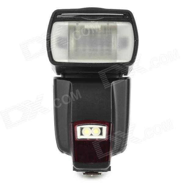 WS 560 Electronic Flash Speedlite Light for Universal DSLR Camera - Black