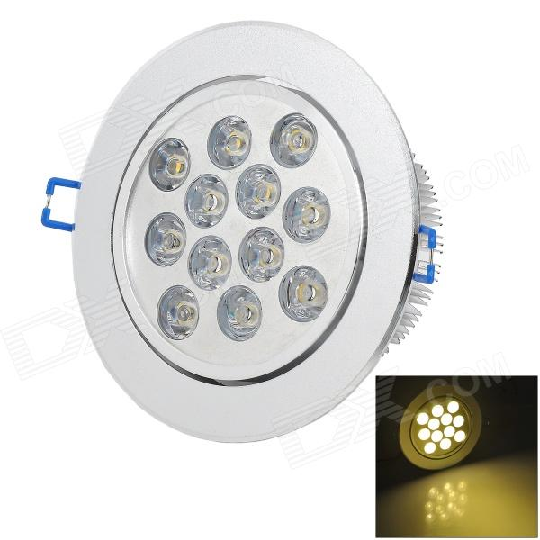 HESION HS020012 12W 1080lm 3000K 12-LED Warm White Light Ceiling Bulb - Silver (AC 85~265V) genius hs 300a silver