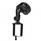 Universal ABS Car Mount Holder + Suction Cup for Iphone / Samsung / HTC + More - Black