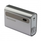 "Bochang AKMB066 4400mAh ""CALL"" Mobile Power Bank-Ladegerät für iPhone 4 / 4S / 5 + More - Silber"