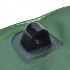 Outdoor Sports Water Bladder Bag w/ Straw - Green + Black (3L)