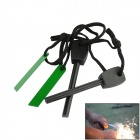 Outdoor Survival Fire Start Flintstones - Black (2PCS)