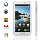 "KICCY W500 MTK6582 Quad-Core Android 4.2 WCDMA Bar Phone w/ 5"" IPS, 512MB RAM, 4GB ROM, GPS - White"