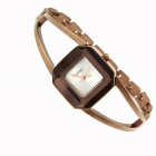 KIMIO K2210 Fashionable Bracelet Women's Quartz Wrist Watch - Coffee (1 x 10)