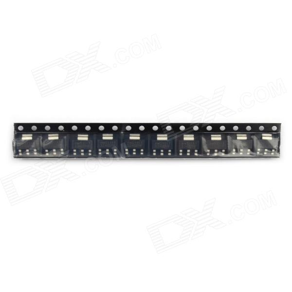AMS1117-3.3V Power Supply IC / Buck IC / Linear Regulator SOT-223 - Black (10PCS)