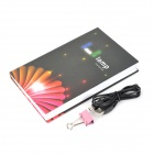 W168 Creative Book Style USB 2.5W 150lm 2500K 10-LED Neutral White Light Table Light (AC 220V)