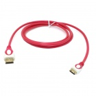 CY HD-139-RE HDMI V1.4 Male to Mini HDMI Male Adapter Cable for Phone / Tablet PC - Translucent Red