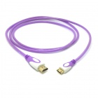 CY HD-139-PU HDMI 1.4 Male to Mini HDMI Male Adapter Cable for Phone Tablet PC - Translucent Purple