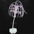 Sacred Tree Elegant Seeds 0.3W 80lm 7-Color Wall Light - White + Light Pink