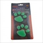 DIY chien Empreinte Glow-in-the-Dark décoration de voiture Sticker Set