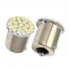 Merdia 1156 3W 150lm 22 x SMD 1206 Tail LED White Light Car Light / lampe de frein - (2 PCS / 12V)