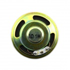 Jtron DIY 50mm 1W 8 Ohms Speaker - Bronze