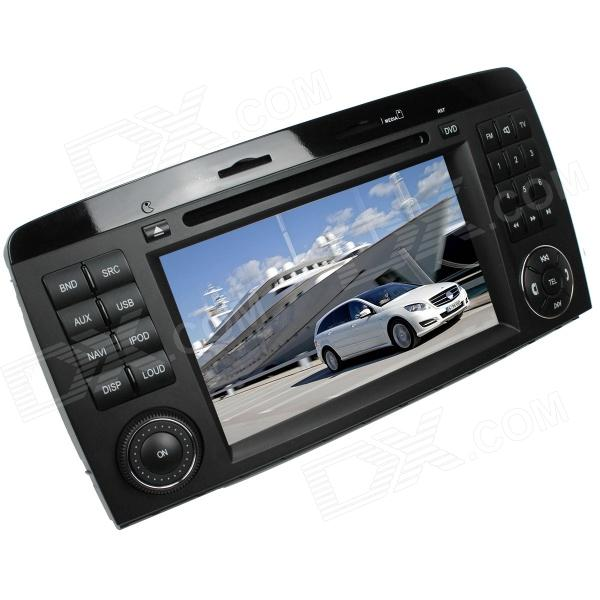 LsqSTAR 7 Car DVD Player w/ GPS,TV,RDS,BT,SWC,Radio,CanBus,Dual Zone for Mercedes-Benz R-Class W251 lsqstar 7car dvd player w gps radio aux swc 6cdc tv canbus phonebook dual zone for chevrolet cruze