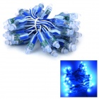 5W 100lm 450~470nm 50-LED Blue Decorative Light String (3m / 5V)