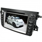"LsqSTAR 7"" Car DVD Player w/ GPS,TV,RDS,BT,CCD,SWC,AUX-IN,Can Bus,Dual Zone for Mercedes-Benz Smart"