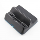 Fashionable Charging Dock Stand for Wii-U Gamepad - Black