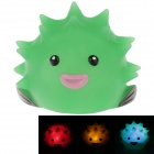 Creative Animals Series Balloonfish Style LED Small Night Lamp - Green