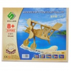 Wooden Assembling Deinonychus Model - Biplane