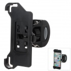 M09 360 Degree Rotation Bracket w/ Back Clamp for Iphone 5C - Black