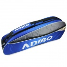 B311 Polyester 3-Badminton Rackets / Shuttlecocks Shoulder Bag - Blue