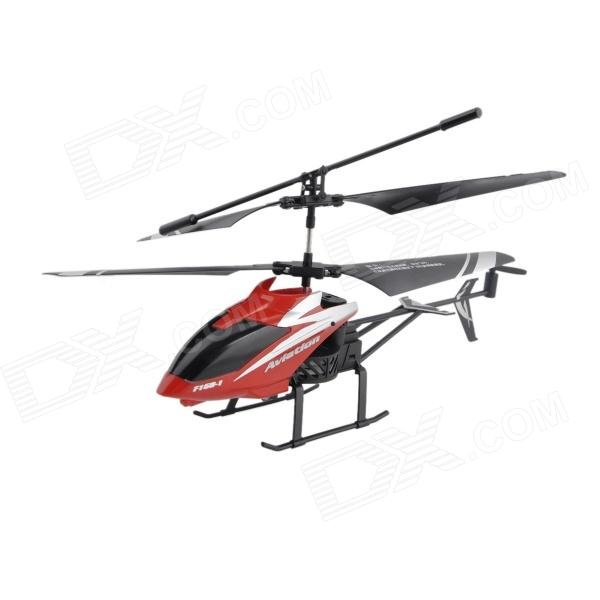 2-CH R/C Helicopter w/ IR Controller - Black + Red sea power настенные интерьерные часы sea power ck043mw