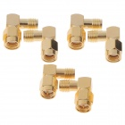 6pcs 5.8G Right Angle SMA Female / Male Antenna Connector for RC Aircraft FPV