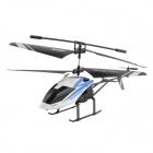 2-CH R/C Helicopter w/ IR Controller - Black + White
