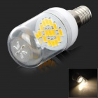 SENCART E14 15SMD E14 1,8 W 110lm 3200K 15 SMD 5730 LED Warm White Light Bulb - Weiß (AC 220 ~ 240V)