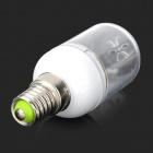 SENCART E14 15SMD E14 1.8W 110lm 3200K 15 SMD 5730 LED Warm White Light Bulb - White (AC 220~240V)