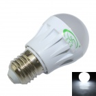 XinYiTong E27 3W 280lm 6500K 10-SMD 2835 LED White Light Bulb - White (85~265V)