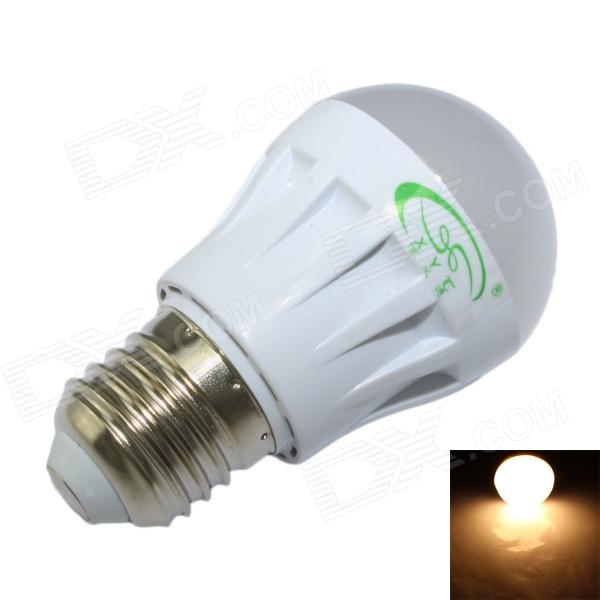 XinYiTong E27 3W 280lm 3000K 10-SMD 2835 LED Warm White Light Bulb - White (85~265V)