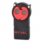 RYVAL Jack-o-lantern Style Water Resistant USB 2.0 Flash Drive - Black + Red + Multicolored (8GB)