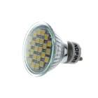 KindFire GU10 4W 300lm 3500K 24 x SMD 5050 LED Warm White Light Spotlight Bulb w/ Cover (220~240V)